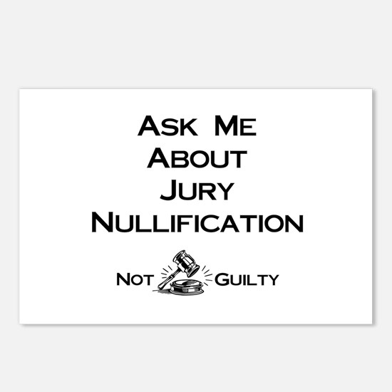 Jury Nullification Postcards (Package of 8)