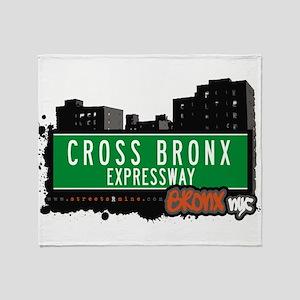 Cross Bronx Expwy Throw Blanket