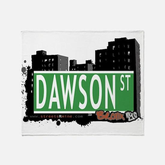 Dawson St Throw Blanket