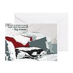 Dog Dreams Card Greeting Cards