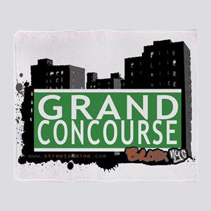 Grand Concourse Throw Blanket