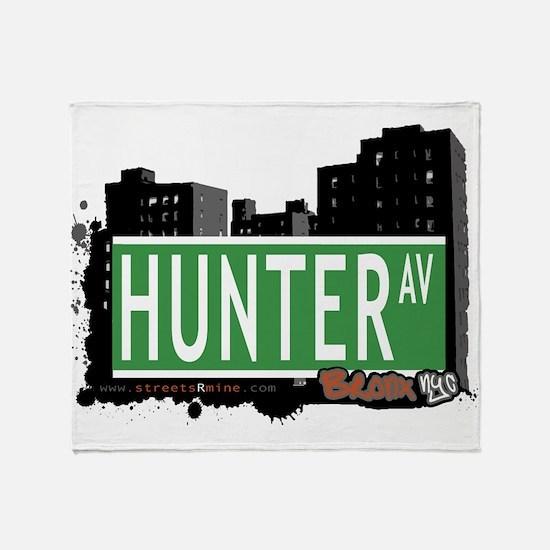 Hunter Ave Throw Blanket