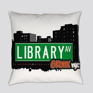 Library Ave Everyday Pillow