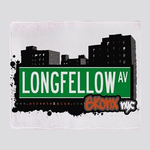 Longfellow Ave Throw Blanket