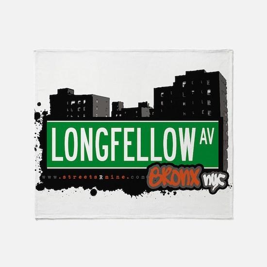 Longfellow Ave Throw Blanket