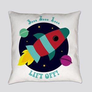 Lift Off Everyday Pillow