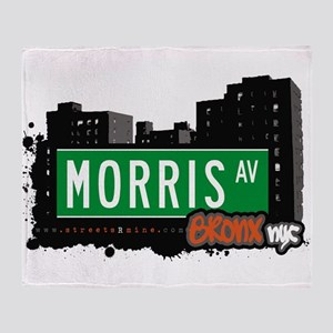Morris Ave Throw Blanket