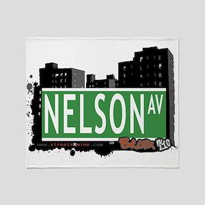 Nelson Ave Throw Blanket
