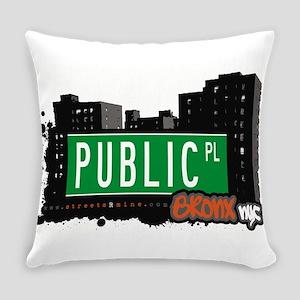 Public Pl Everyday Pillow