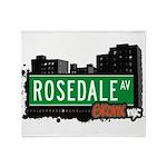 Rosedale Ave Throw Blanket