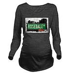 Rosedale Ave Long Sleeve Maternity T-Shirt