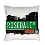 Rosedale Ave Everyday Pillow