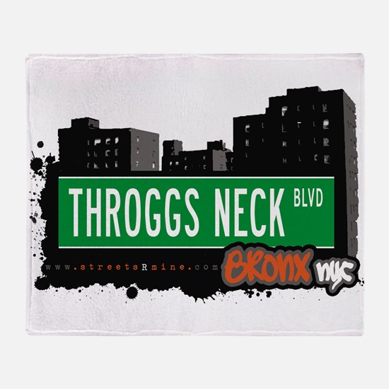 Throggs Neck Blvd Throw Blanket