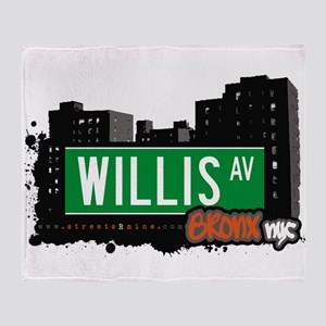 Willis Ave Throw Blanket
