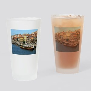 Porto, Portugal Drinking Glass