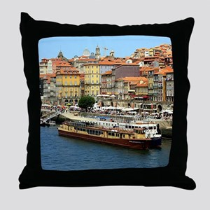 Porto, Portugal Throw Pillow