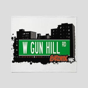 W GUN HILL RD Throw Blanket