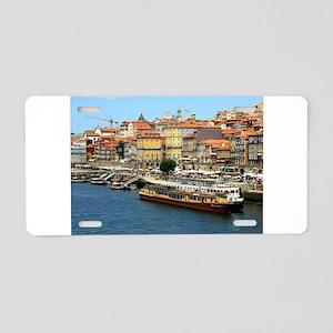 Porto, Portugal Aluminum License Plate