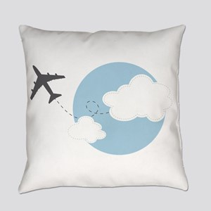 Travel The World Everyday Pillow