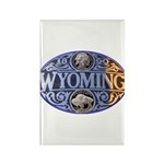 WYOMING Rectangle Magnet (10 pack)