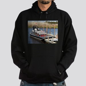 Florida swamp airboat Hoodie (dark)