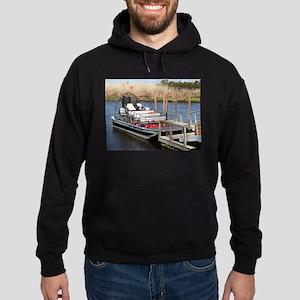 Florida swamp airboat Hoodie (dark)