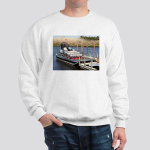 Florida swamp airboat Sweatshirt