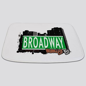 Broadway, BROOKLYN, NYC Bathmat