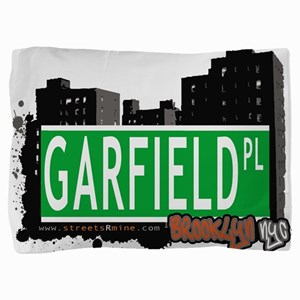 GARFIELD PL, BROOKLYN, NYC Pillow Sham