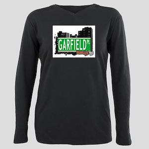 GARFIELD PL, BROOKLYN, NYC Plus Size Long Sleeve T