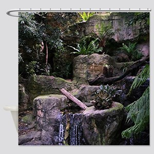 Ferny grotto Shower Curtain