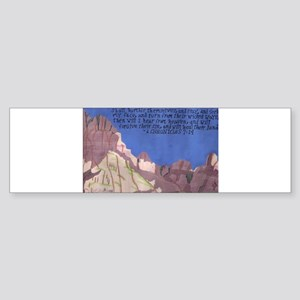2 chronicles 7:14 Bumper Sticker