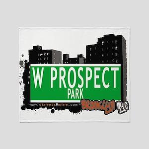 W PROSPECT PARK, BROOKLYN, NYC Throw Blanket