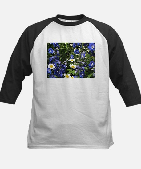 Delphiniums and Daisies Baseball Jersey