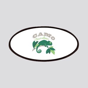 Camo Chameleon Patch