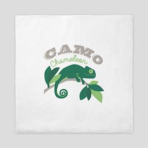 Camo Chameleon Queen Duvet