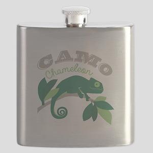 Camo Chameleon Flask