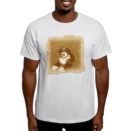 sepia wavy ret 10x10_apparel copy T-Shirt