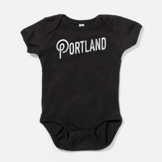 Portland, Oregon Baby Bodysuit