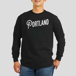 Portland, Oregon Long Sleeve Dark T-Shirt