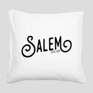 Salem, Oregon Square Canvas Pillow
