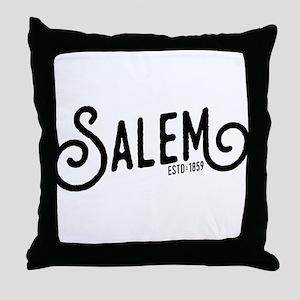 Salem, Oregon Throw Pillow