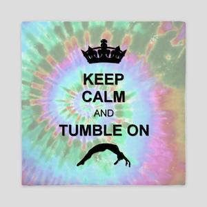 Rainbow Tye Dye Gymnastics Queen Duvet