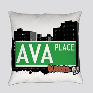 AVA PLACE, QUEENS, NYC Everyday Pillow