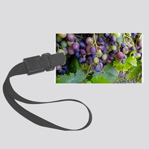 GRAPES 2 Large Luggage Tag