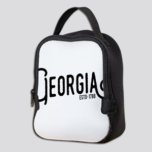 Georgia Neoprene Lunch Bag