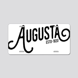 Augusta, Georgia Aluminum License Plate