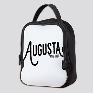 Augusta, Georgia Neoprene Lunch Bag