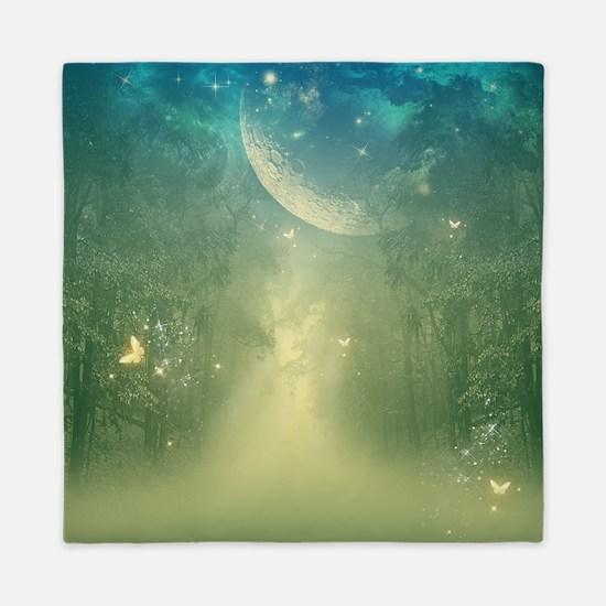Mystical forest Queen Duvet