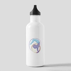 Handstand Lady Water Bottle